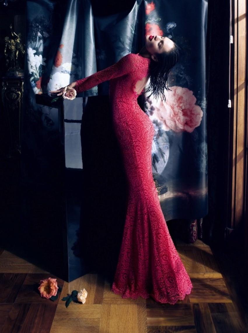 Candice Swanepoel za Blumarine