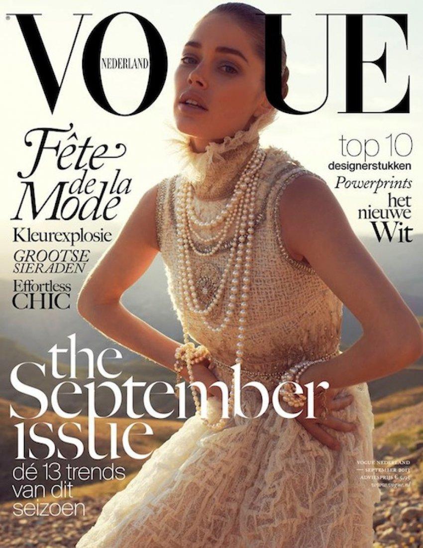 Doutzen Kroes za Vogue Nizozemsku
