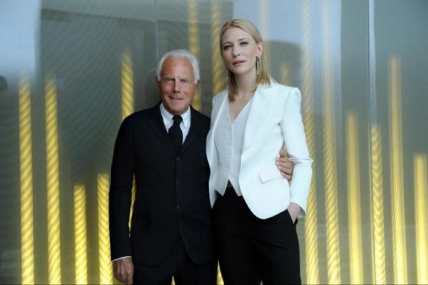 Cate Blanchett i Giorgio Armani
