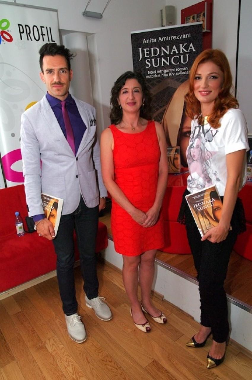 Miran Kurspahić, Anita Amirrezvani i Vanda Winter
