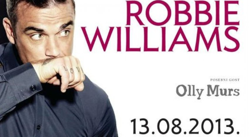 Robbie Williams, Zagreb