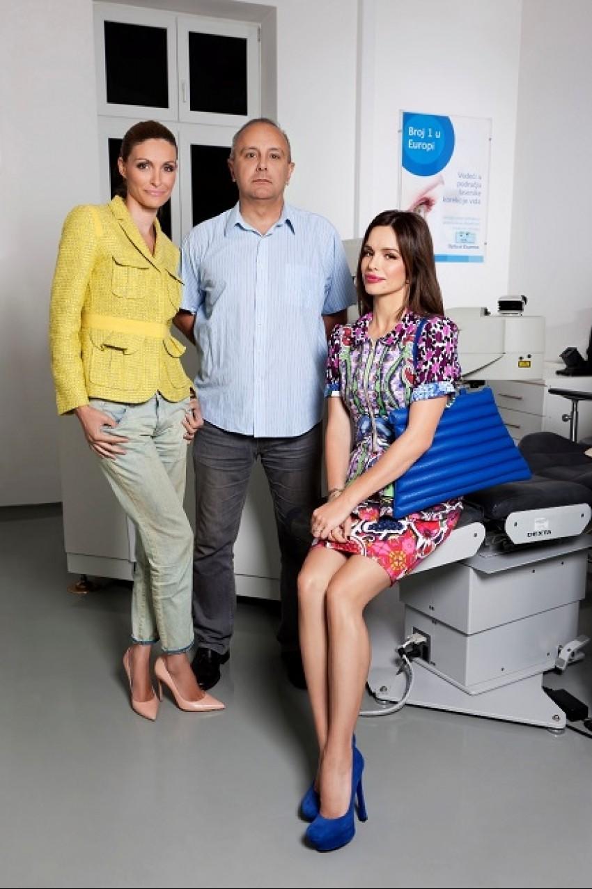 Ana Kričković, Dr. Dean Šarić i Severina