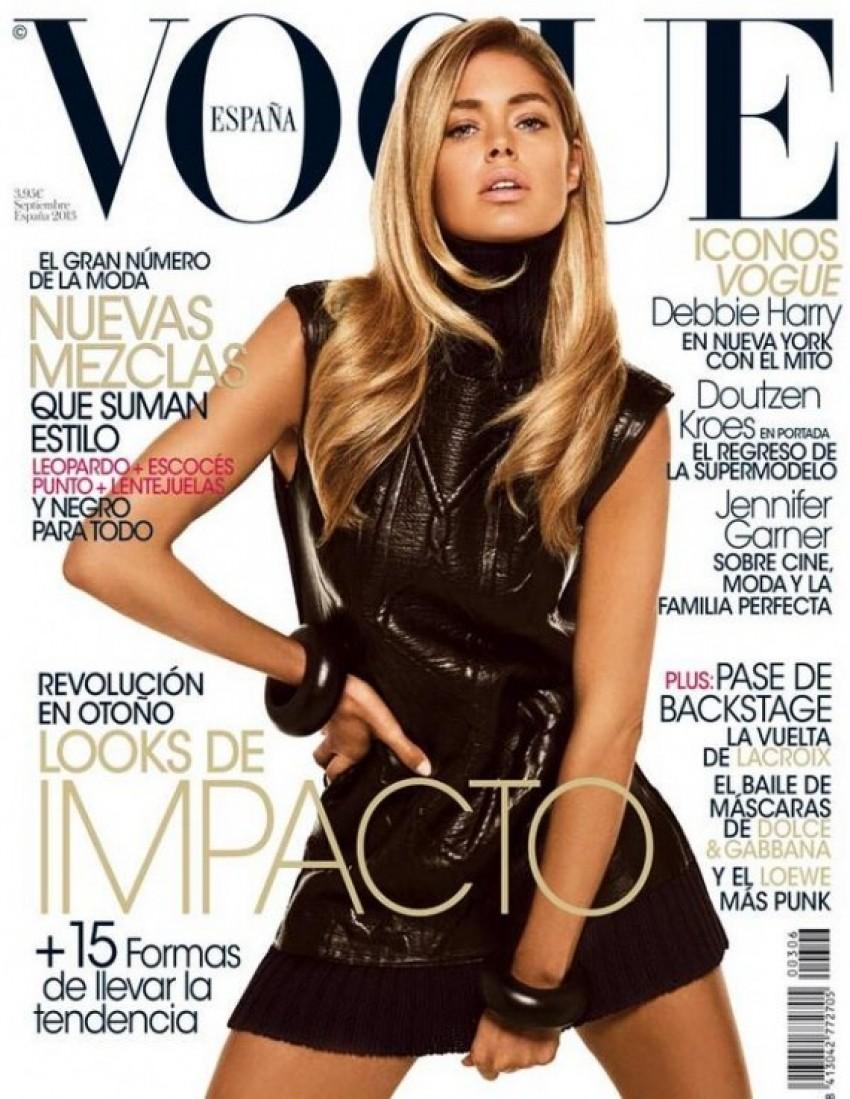 Doutzen Kroes za španjolski Vogue