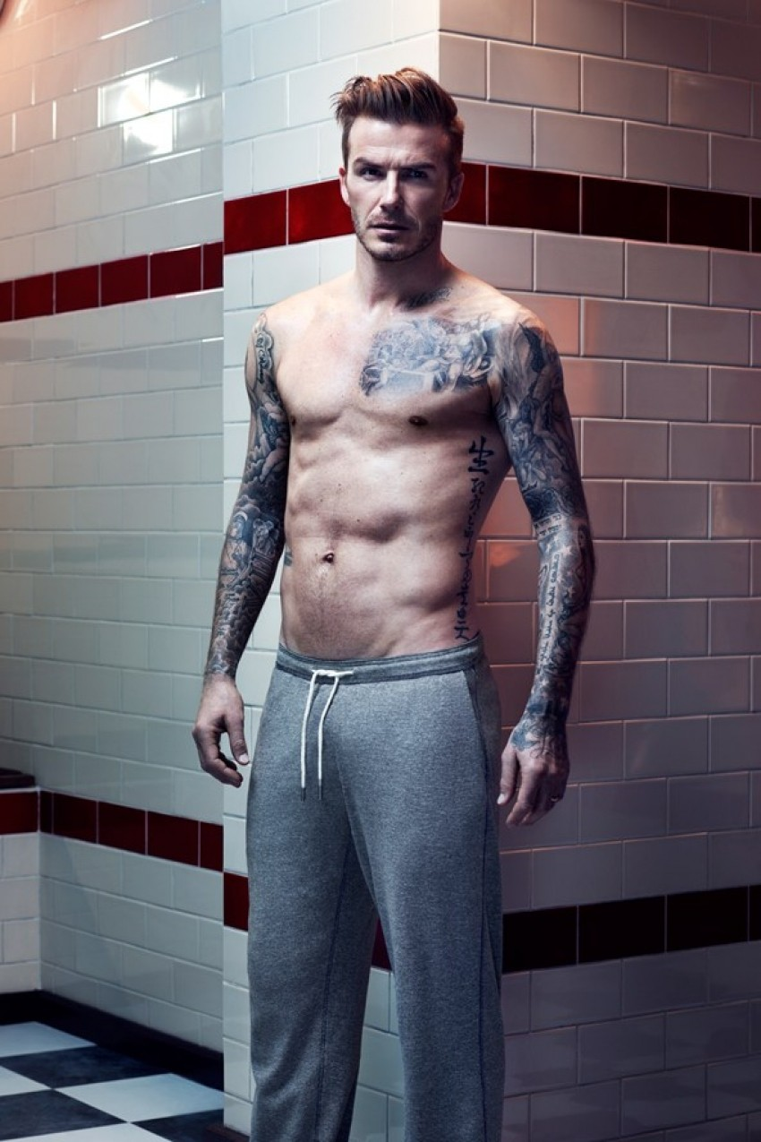 David Beckham za H&M