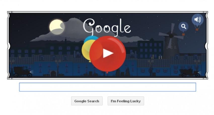 Google Doodle u čast Claudeu Debussy