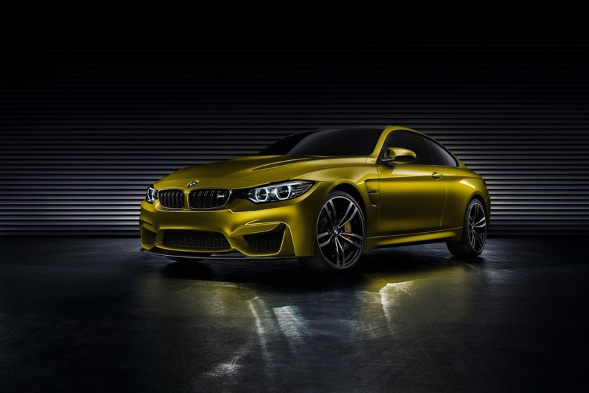 BMW koncept M4 Coupe