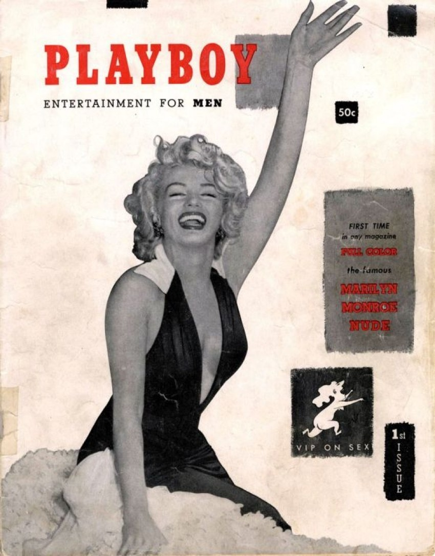 Marilyn Monroe na prvoj naslovnici Playboya