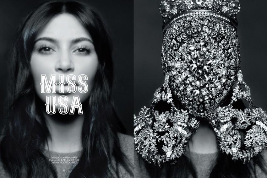 Kim Kardashian za CR Fashion Book