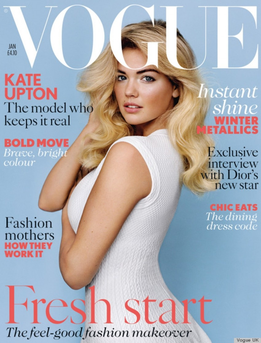 Naslovnica Vogue UK s Kate Upton