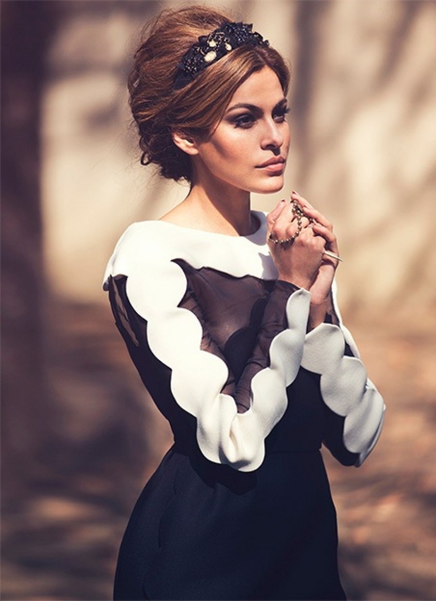 Eva Mendes za The Edit