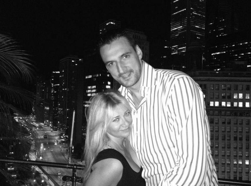 Jasmina sa svojim suprugom Daliborom Bagarićem