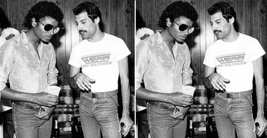 Freddie Mercury i Michael Jackson