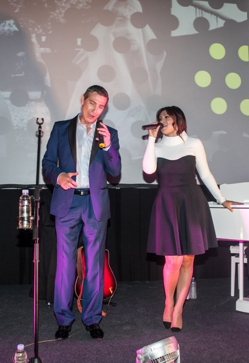 Massimo Savić i Nina Badrić