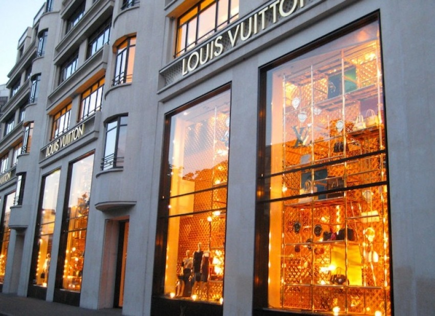 Louis Vuitton trgovina u Parizu