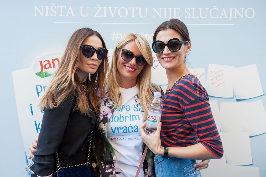 Tatjana Ivanišević, Iva Balent i Iva Balaban