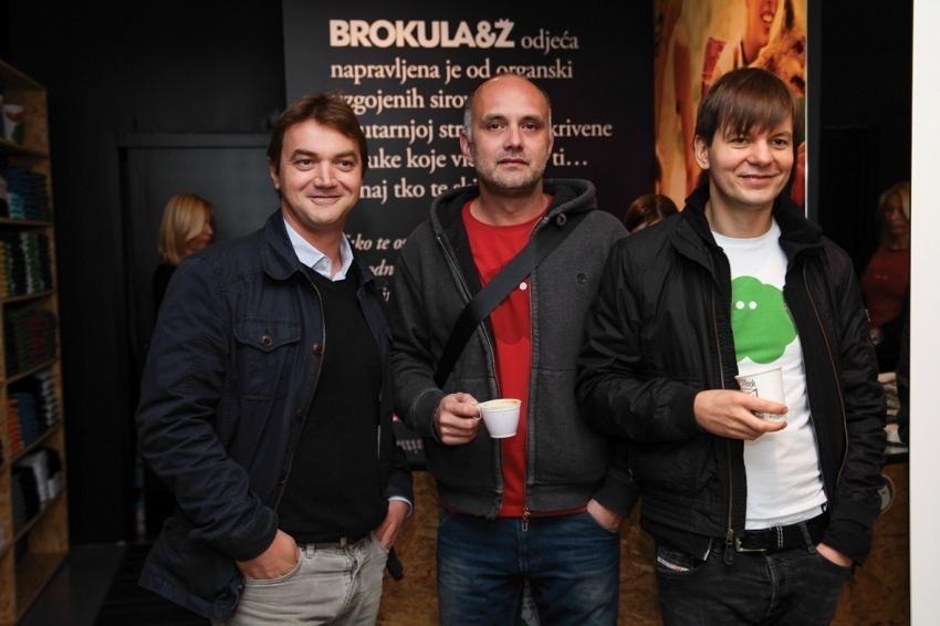 Zoran šainović, Davor Bruketa i Nikola Žinić