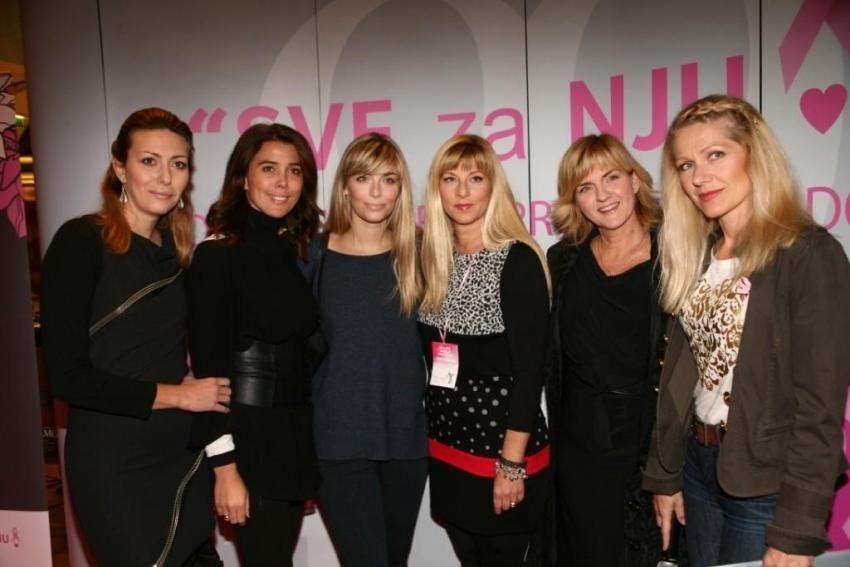 Maja Kuljiš, Iva Loparić - Kontek, Sarah Josipović, Suzy Josipović, Sanja Doležal i Barbara Kolar