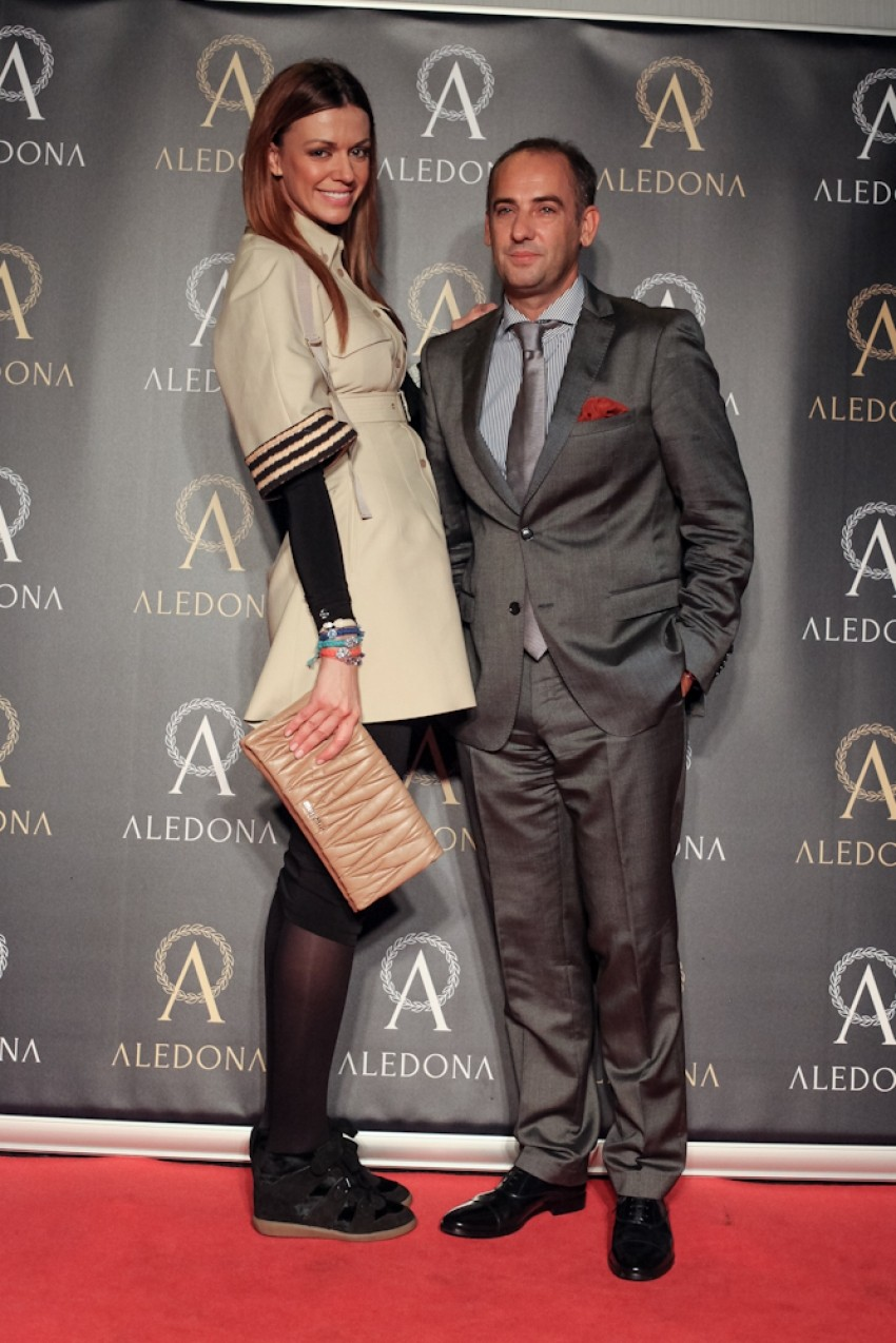 Aleksandra Dojčinović s vlasnikom Aledone