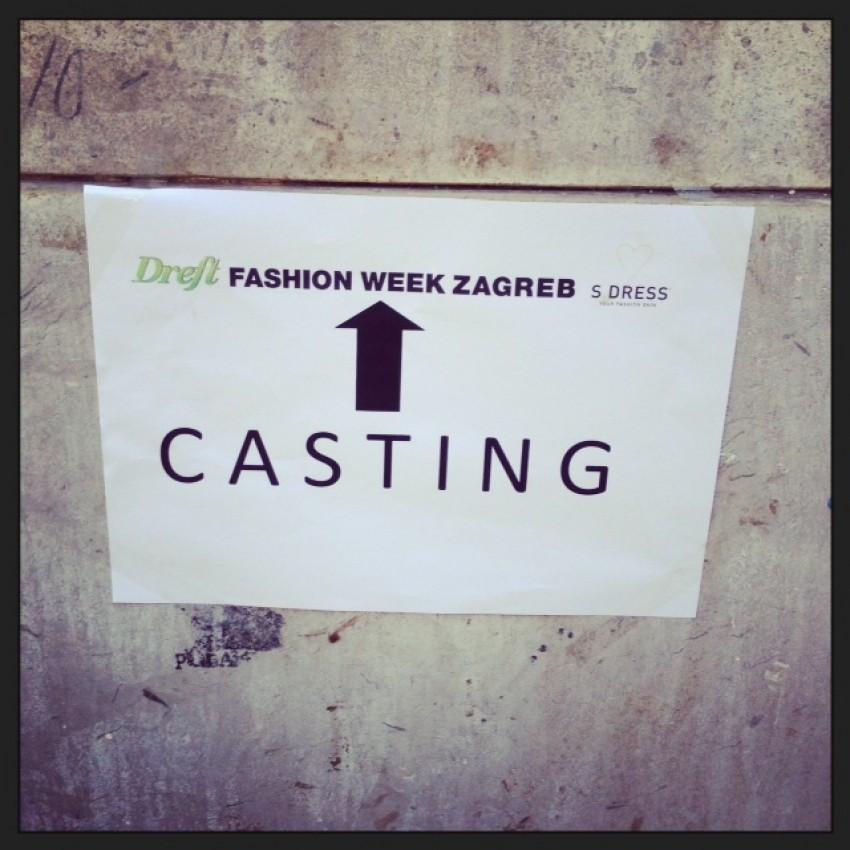 Casting S.dressa za Dreft Fashion Week Zagreb by Lana Biondić