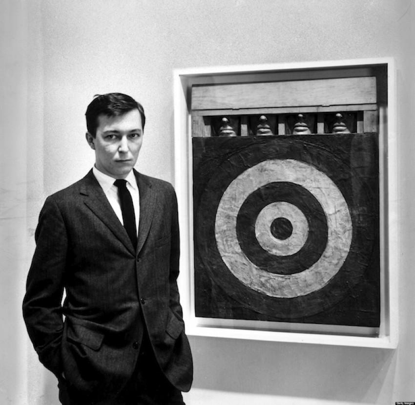 Jasper Johns u mlađim danima