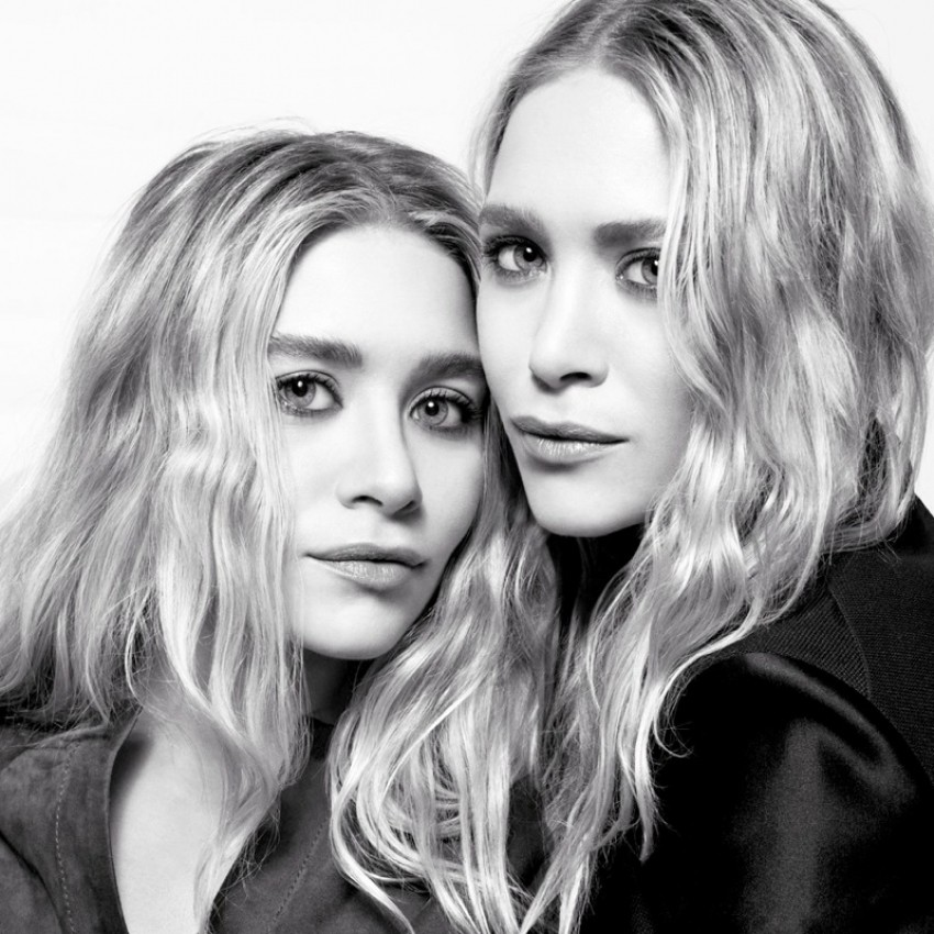 Mary-Kate i Ashley Olsen za The Edit
