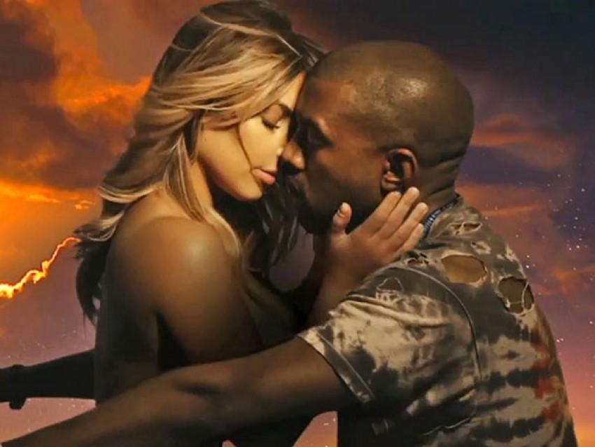 """Kim i Kanye u videu za pjesmu """"Bound 2"""""""