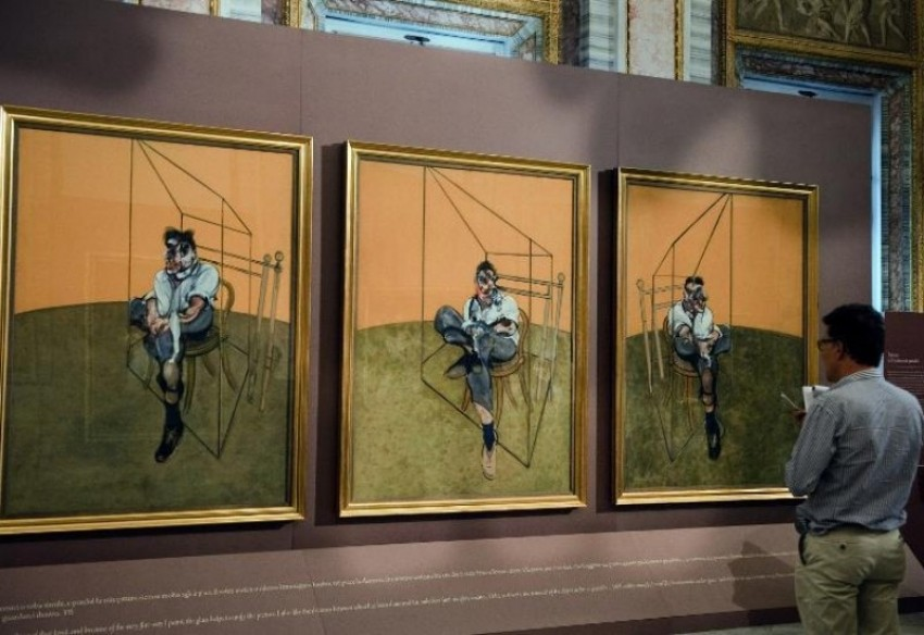 "Francis Bacon ""Three Studies of Lucian Freud"""