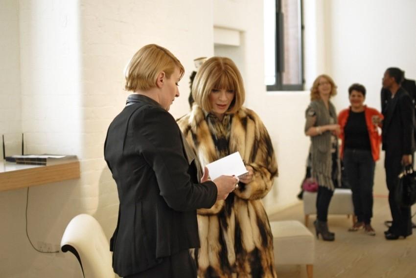 Dizajnerice iz Hemyce i Anne Wintour