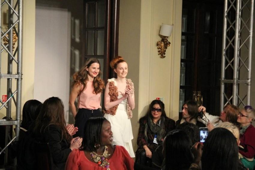 Vjera Viličnik na London Fashion Weeku