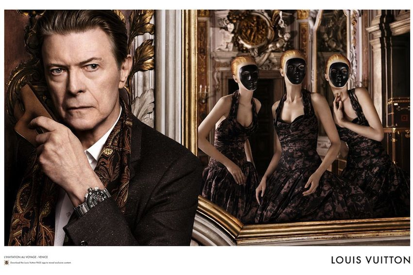 David Bowie za Louis Vuitton