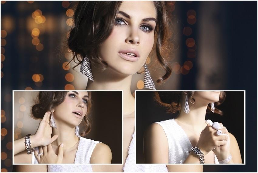 Glumica Ornela Vištica u kampanji za Argentum srebrnarnice pokazala je savršen srebrni nakit