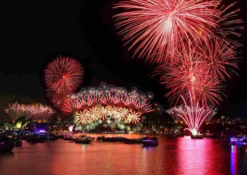 Sydney, Najspektakularniji svjetski vatrometi
