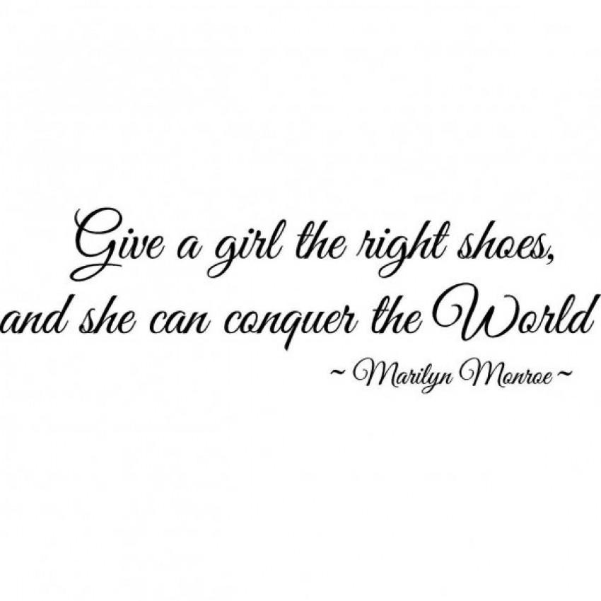 marilyn monroe citat o cipelama
