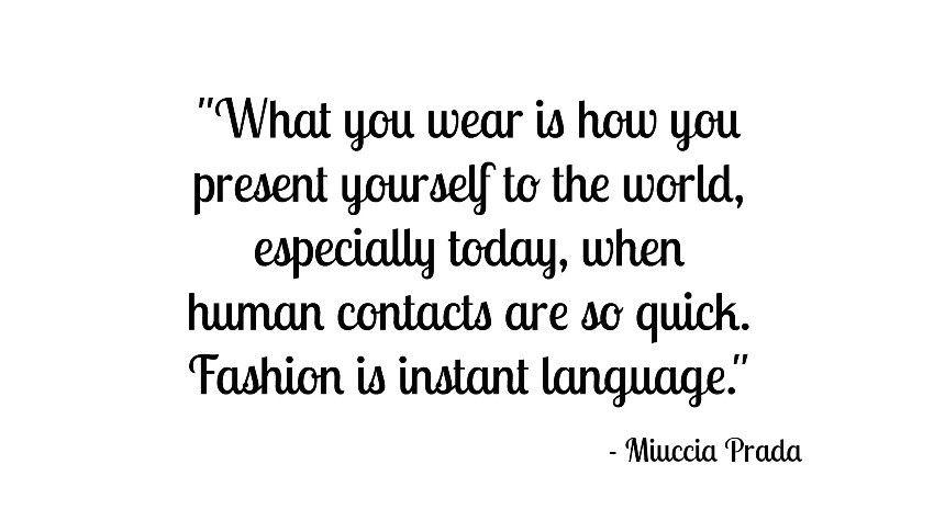 Miuccia Prada citat