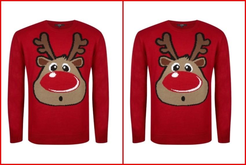 Božićni džemperi, Crveni rudolf džemper, 325 kn