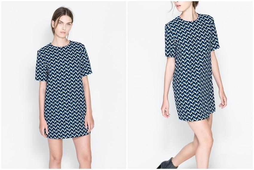 Zara haljina s uzorkom, 399 kn