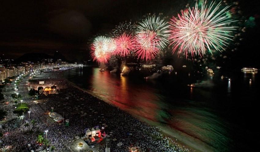 Rio de Janeiro, Najspektakularniji svjetski vatrometi
