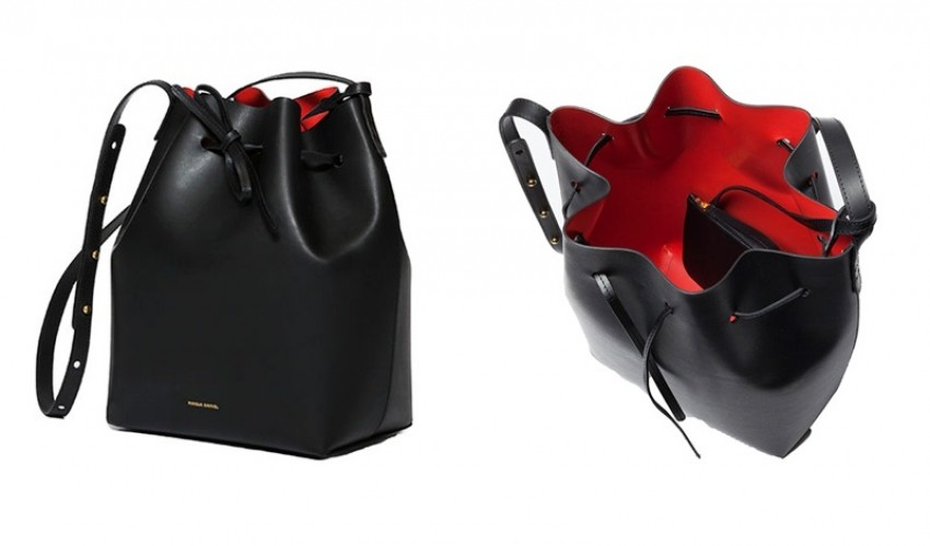 The Mansur Gavriel bucket torba