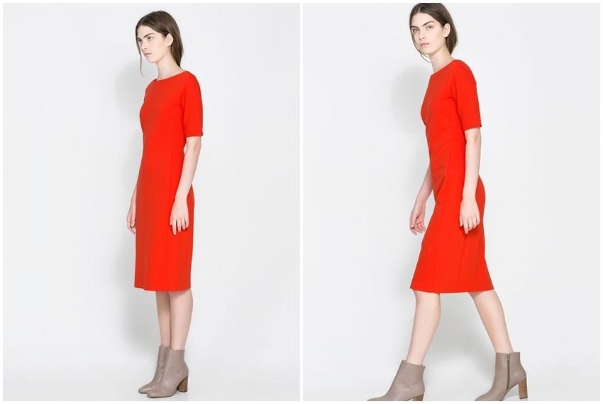 Zara crvena haljina, 399 kn