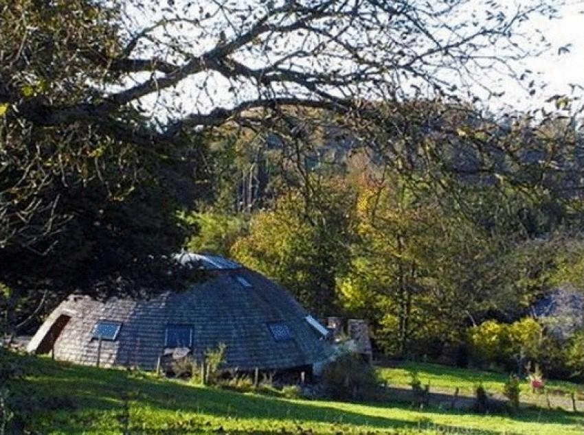 "Ekološka ""Hobbit"" kuća u  Alsaceu, Francuska"