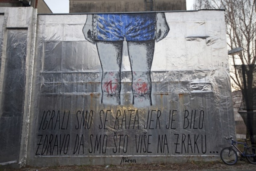 Mural Mirona Milića iz Laube