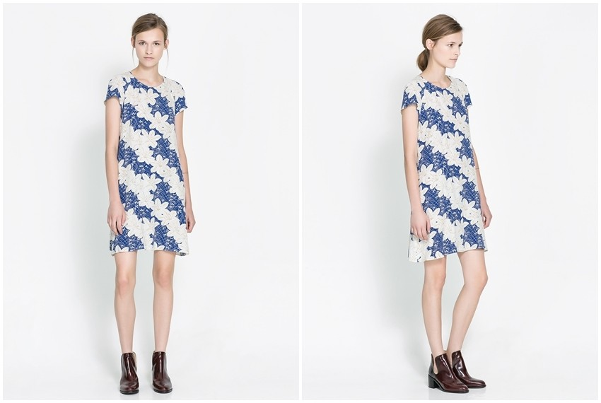 Zara haljina s cvijetnim uzorkom, 399 kn