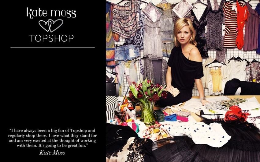 Kate Moss za TopshopKate Moss za Topshop