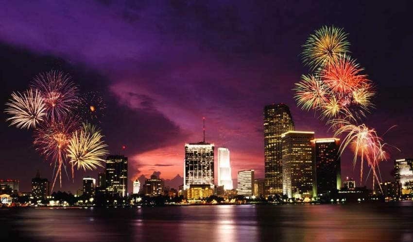 Miami Beach, Najspektakularniji svjetski vatrometi