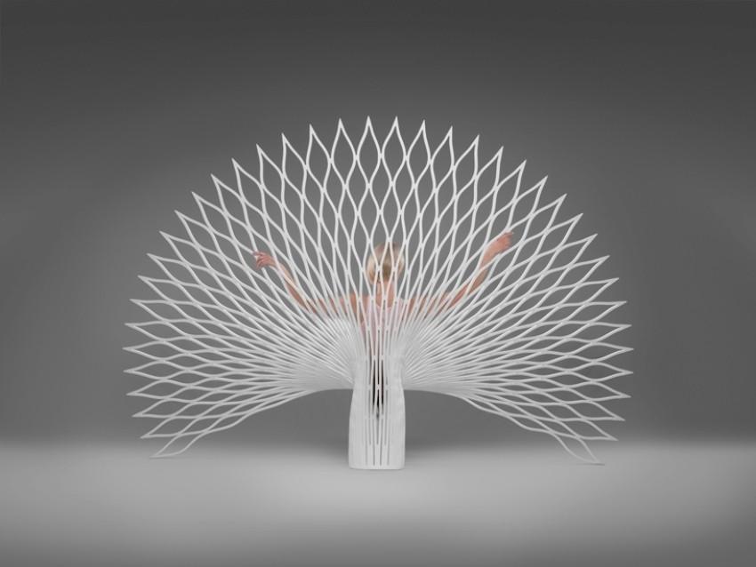 Peacock dizajnerska stolica za uređenje svakog doma