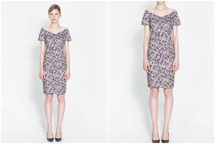Zara cvijetna haljina , 399 kn