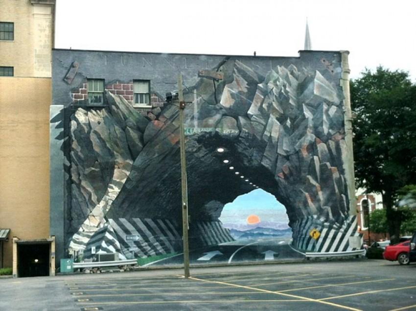 Tunnel, nepoznat autor, Kolumbija
