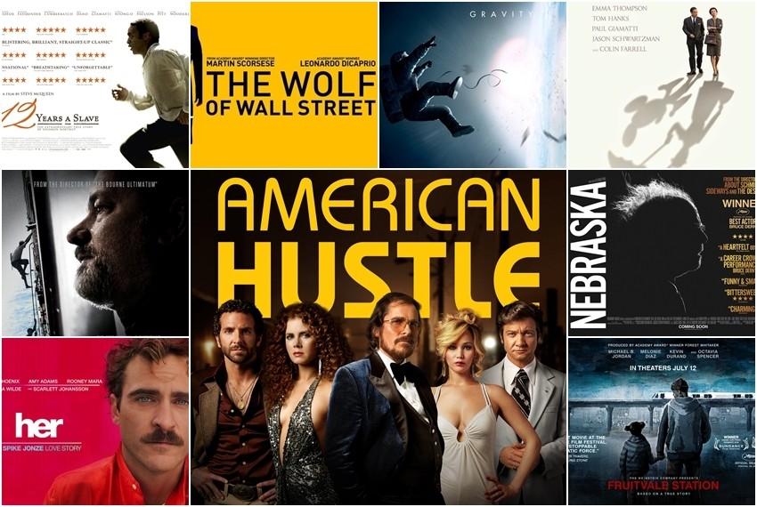 Najbolji filmovi u 2013. godini po Američkom filmskom institutu
