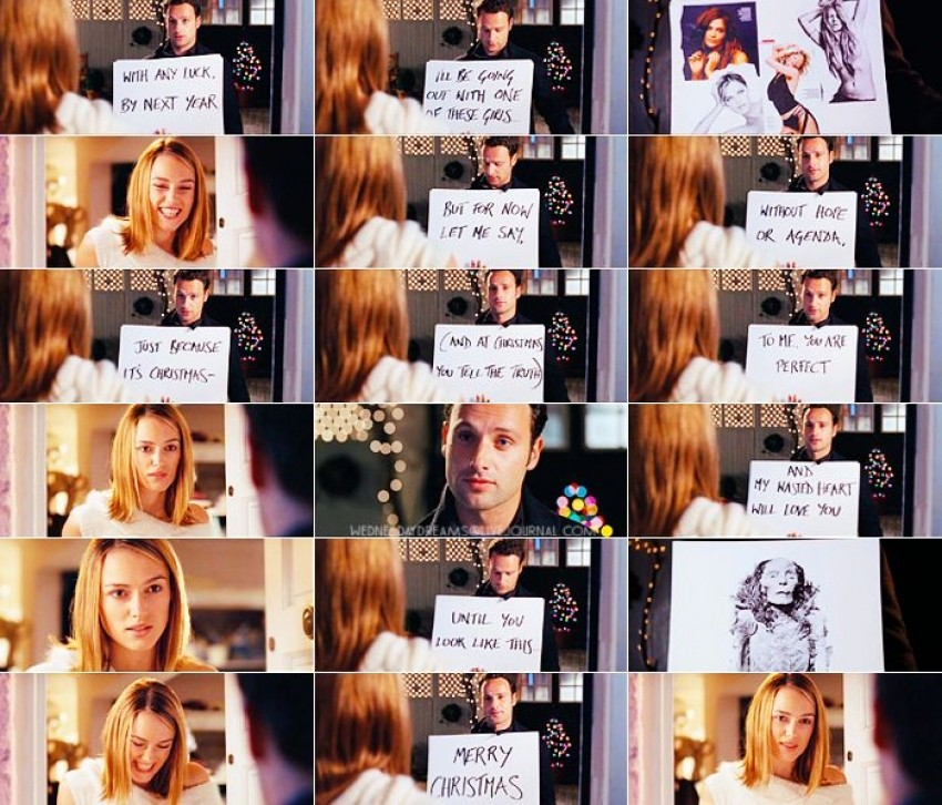 Love Actually - it scena
