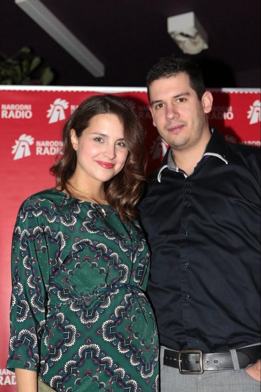 Doris Pinčić sa suprugom Borisom na rođendanu Narodnog radija